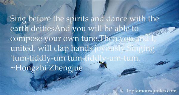 Hongzhi Zhengjue Quotes