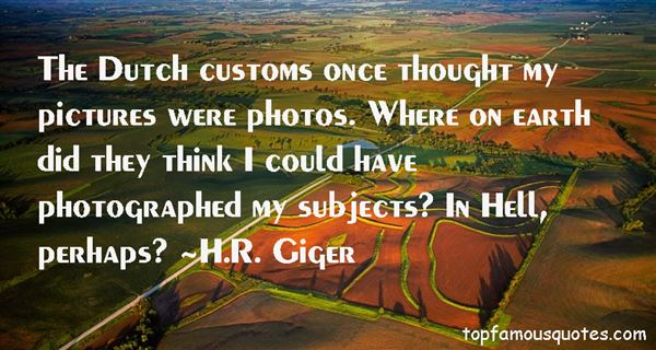 H.R. Giger Quotes