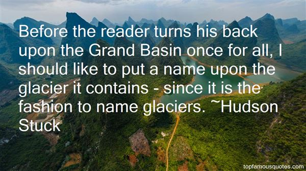 Hudson Stuck Quotes