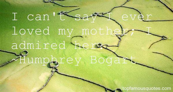 Humphrey Bogart Quotes