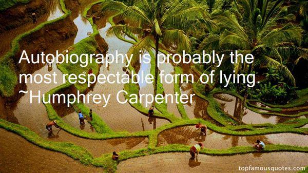 Humphrey Carpenter Quotes