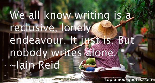 Iain Reid Quotes