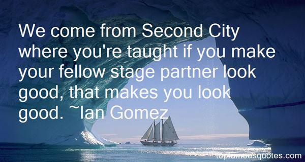 Ian Gomez Quotes