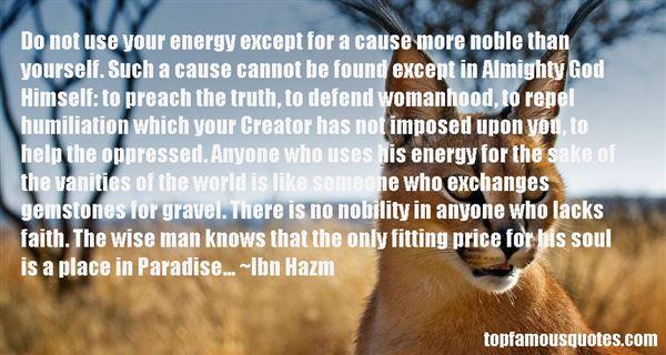 Ibn Hazm Quotes