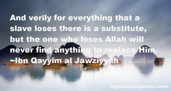 Ibn Qayyim Al Jawziyyah Quotes