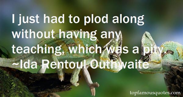 Ida Rentoul Outhwaite Quotes