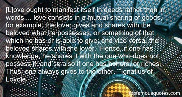 Ignatius Of Loyola Quotes