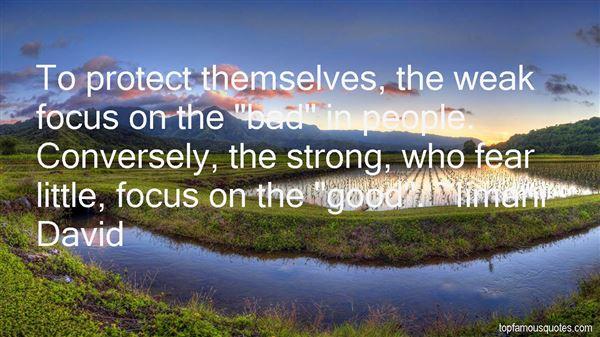 Iimani David Quotes
