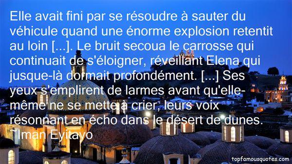 Iman Eyitayo Quotes