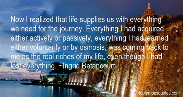 Ingrid Betancourt Quotes