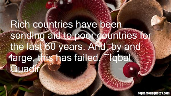 Iqbal Quadir Quotes