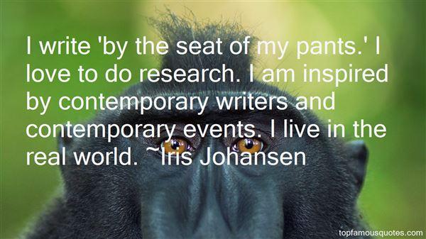Iris Johansen Quotes