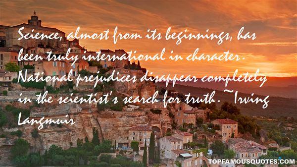 Irving Langmuir Quotes