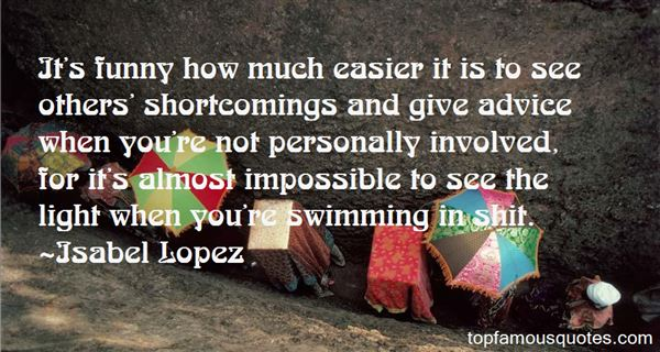 Isabel Lopez Quotes