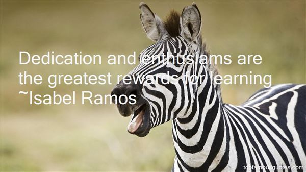 Isabel Ramos Quotes