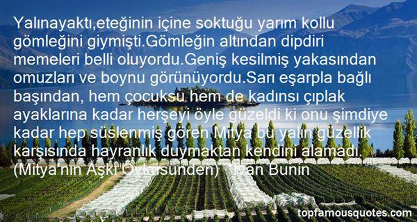 Ivan Bunin Quotes