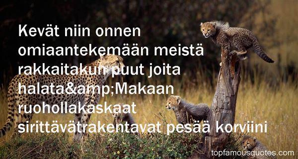 J. K. Ihalainen Quotes