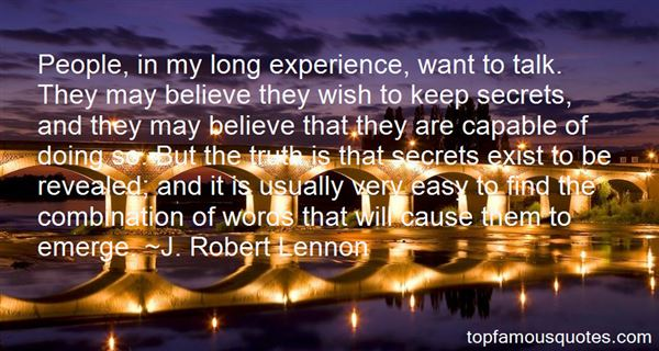 J. Robert Lennon Quotes