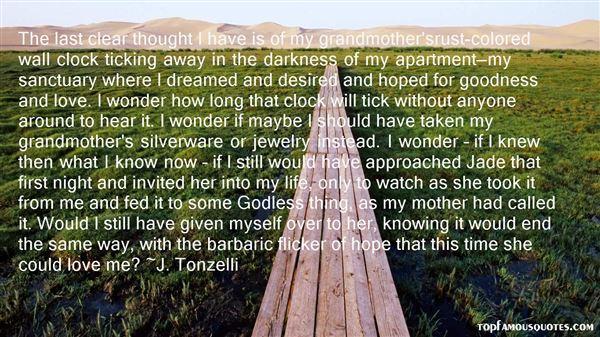 J. Tonzelli Quotes