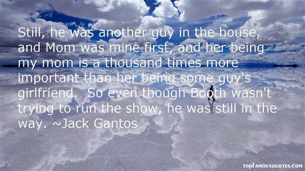 Jack Gantos Quotes