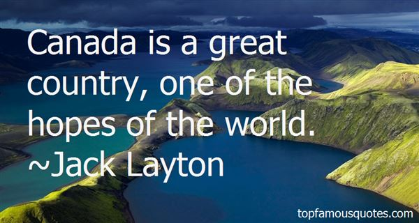 Jack Layton Quotes