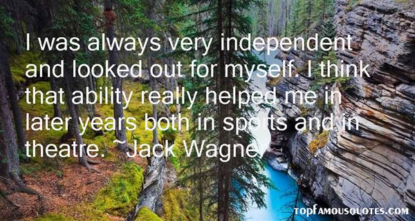 Jack Wagner Quotes