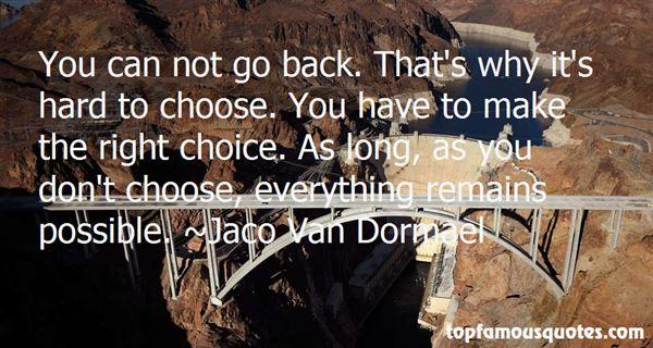 Jaco Van Dormael Quotes