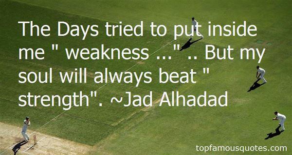 Jad Alhadad Quotes