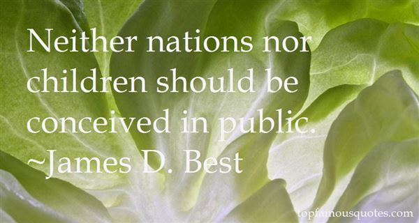 James D. Best Quotes