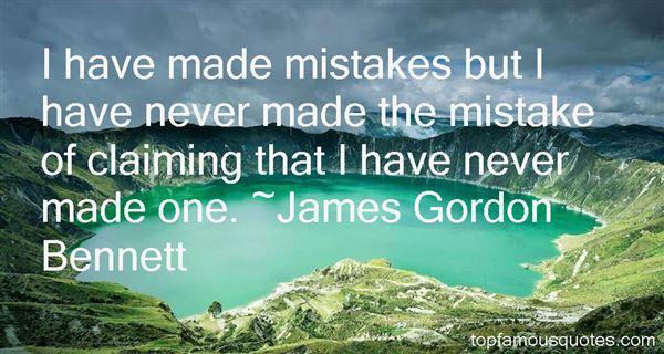 James Gordon Bennett Quotes