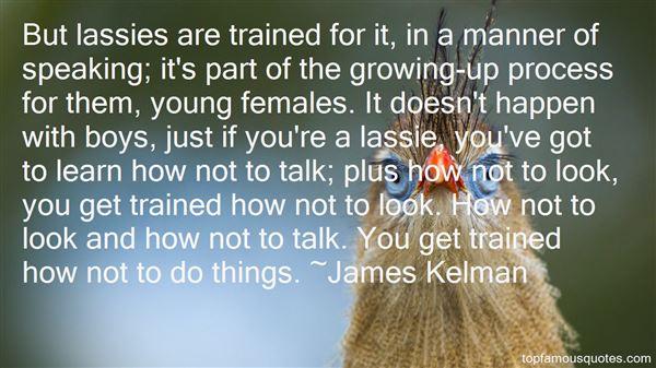 James Kelman Quotes