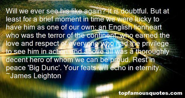 James Leighton Quotes