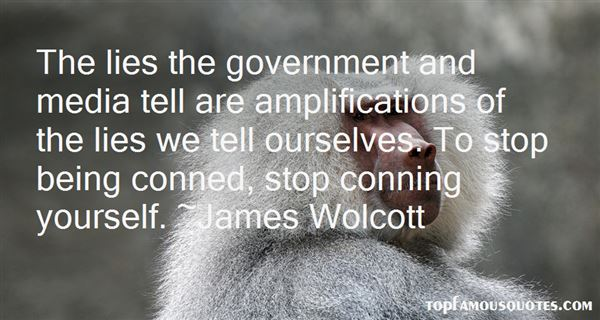 James Wolcott Quotes