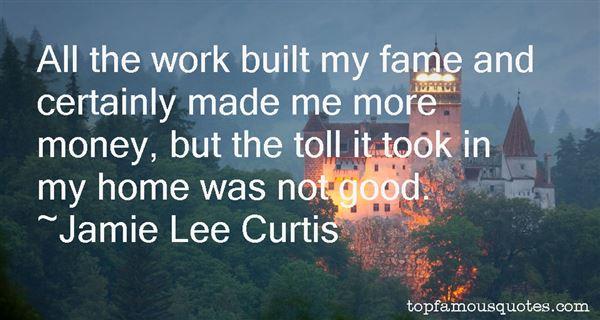Jamie Lee Curtis Quotes