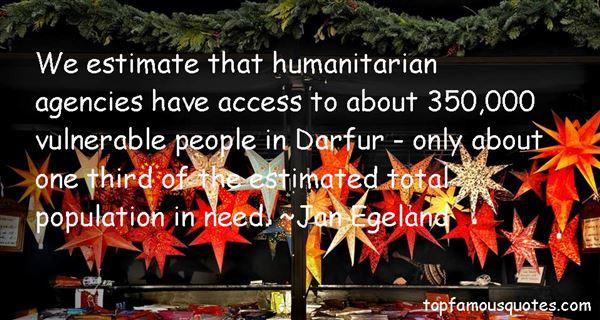 Jan Egeland Quotes