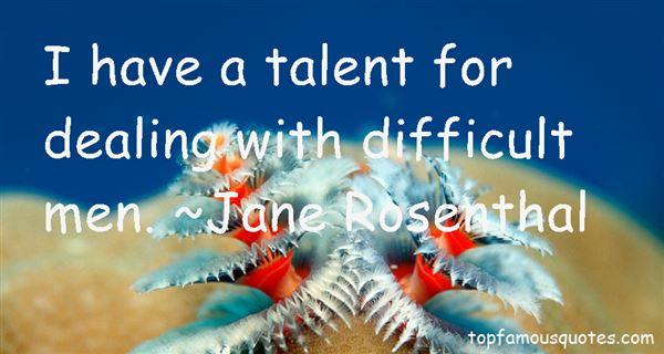 Jane Rosenthal Quotes
