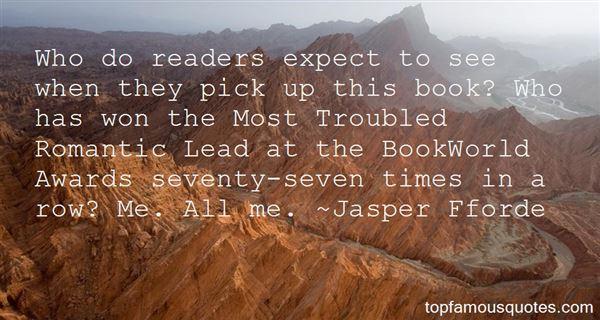 Jasper Fforde Quotes