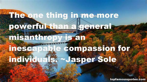Jasper Sole Quotes