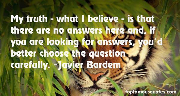 Javier Bardem Quotes