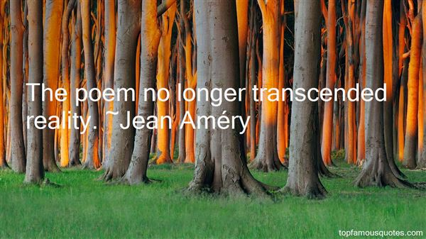 Jean Améry Quotes