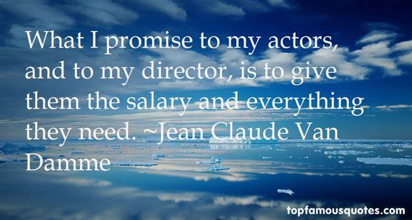 Jean Claude Van Damme Quotes