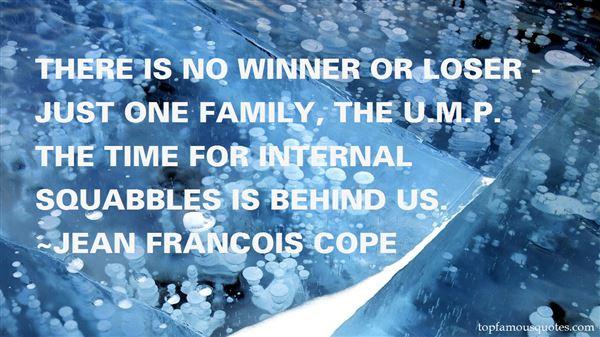 Jean Francois Cope Quotes
