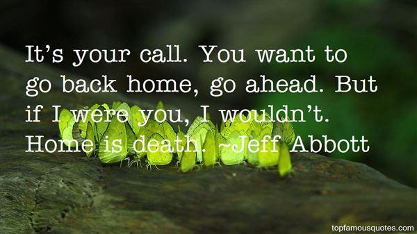 Jeff Abbott Quotes