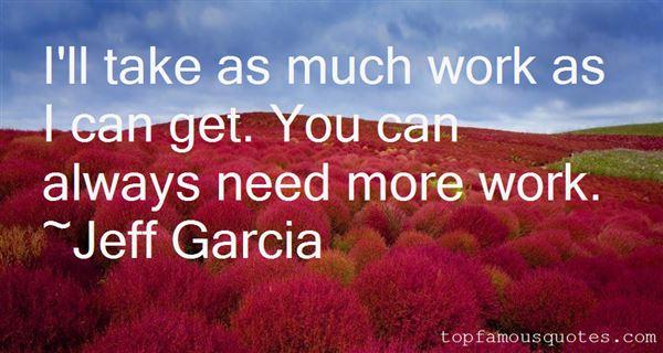 Jeff Garcia Quotes