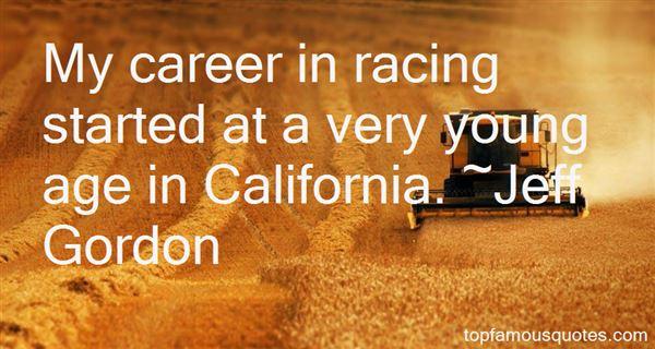 Jeff Gordon Quotes