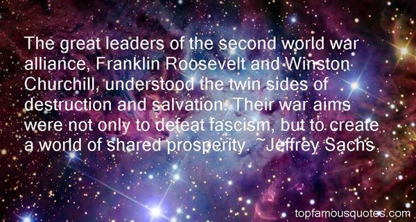 Jeffrey Sachs Quotes