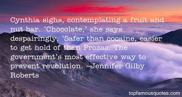Jennifer Gilby Roberts Quotes