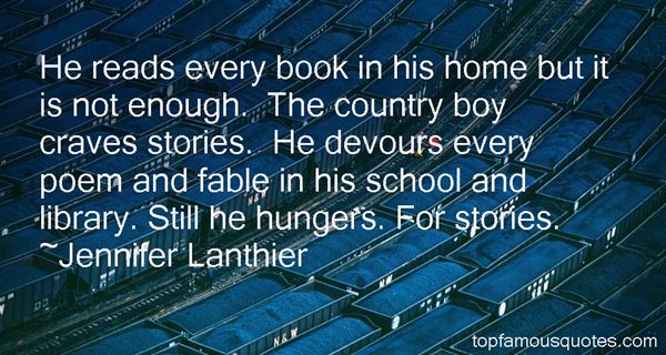Jennifer Lanthier Quotes
