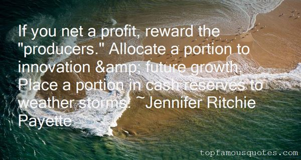 Jennifer Ritchie Payette Quotes