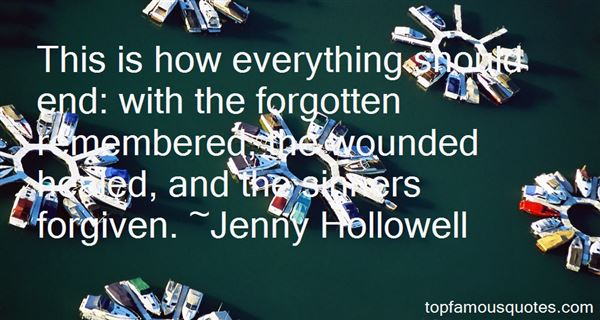 Jenny Hollowell Quotes